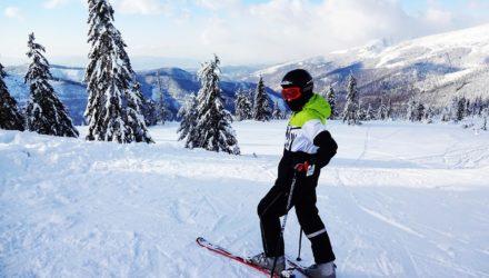 Dobór Googlie narciarskich